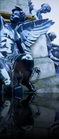 L'Ange-Gardien++Huile sur bois 72'' x 48''