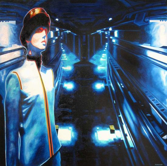 Decisivus<br>Oil on canvas - 72x72