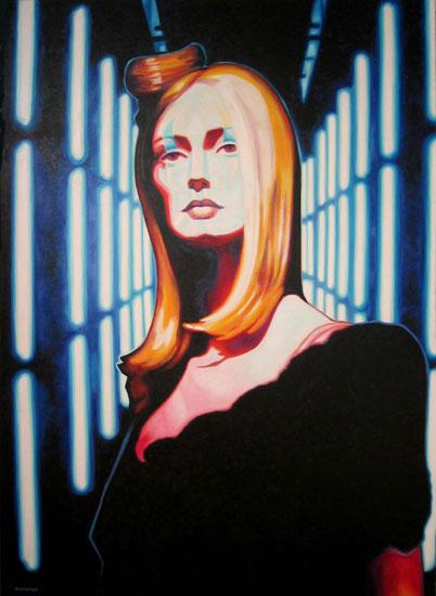Néon<br>Oil on canvas -  60x84