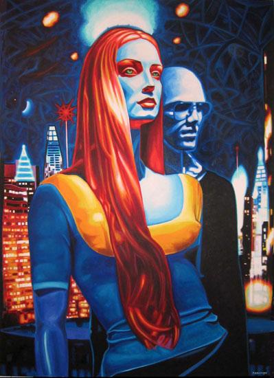 Capilus Focus<br>Oil on canvas - 60x84